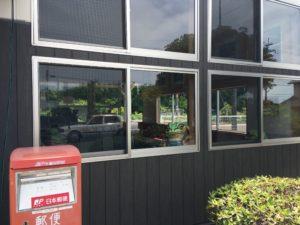 JR印南駅の窓