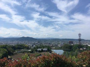 紀ノ川サービスエリアの景色