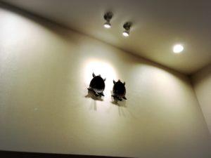 天六のなにわの湯の入り口のカメの装飾2