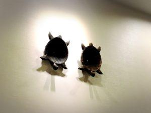 天六のなにわの湯の入り口のカメの装飾3