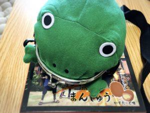 お土産・NARUTOのカエル型がま口財布