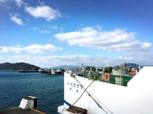 徳山港スオーナダフェリーと海