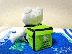 かえるのピクルス大阪イベント2021年の限定ビーンドールとデリバリーバッグ